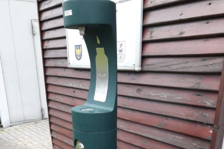 Zdrój wody pitnej naOrliku przy ul.Grażyńskiego 2