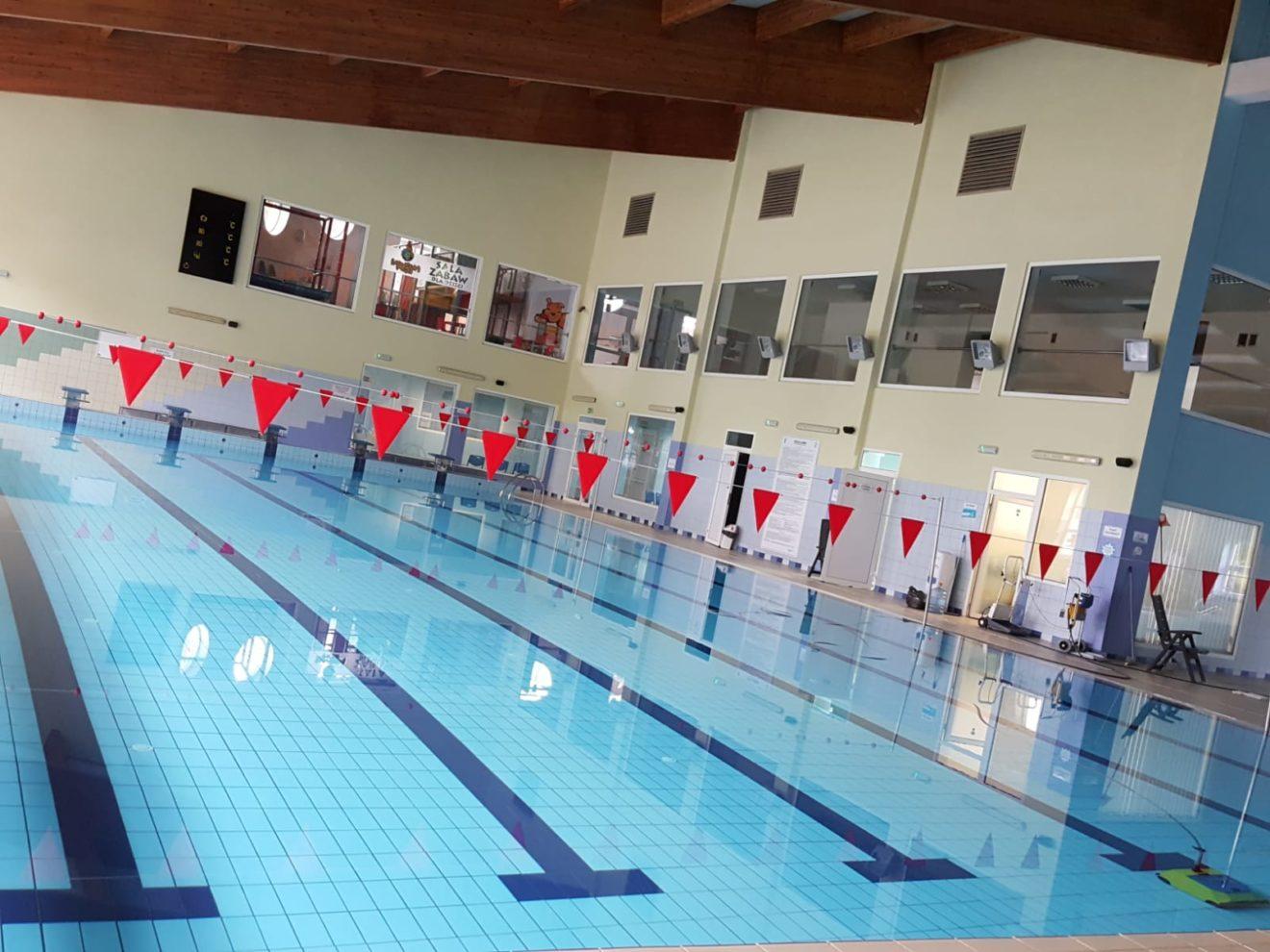 Zniesienie limitu osób wkrytej pływalni