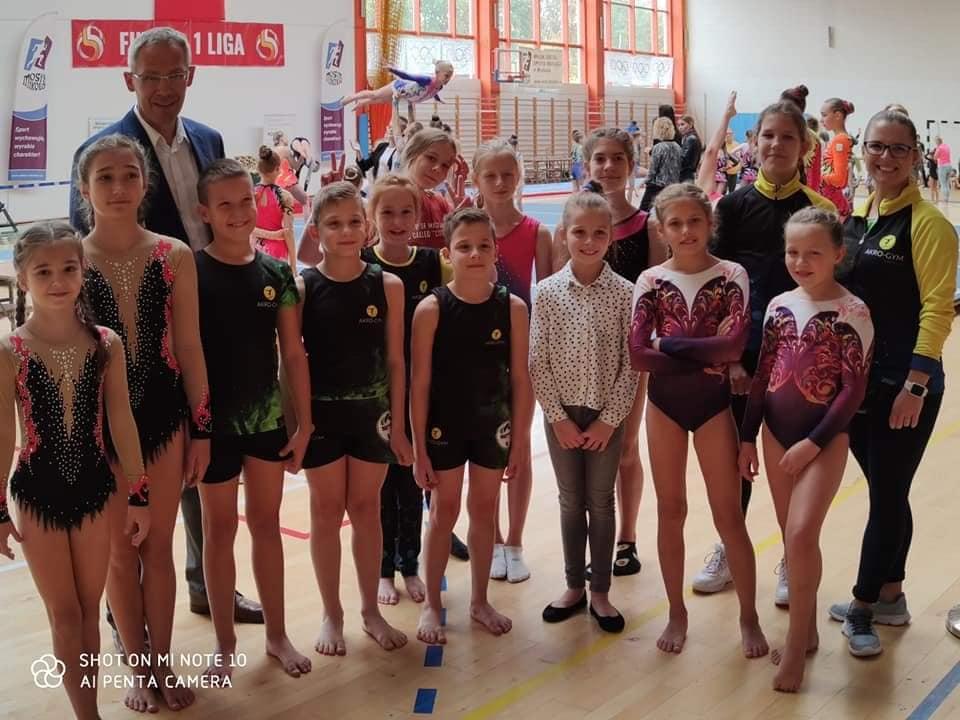 Międzywojewódzkie Mistrzostwa Młodzików wAkrobatyce Sportowej iSkokach naŚcieżce – podsumowanie